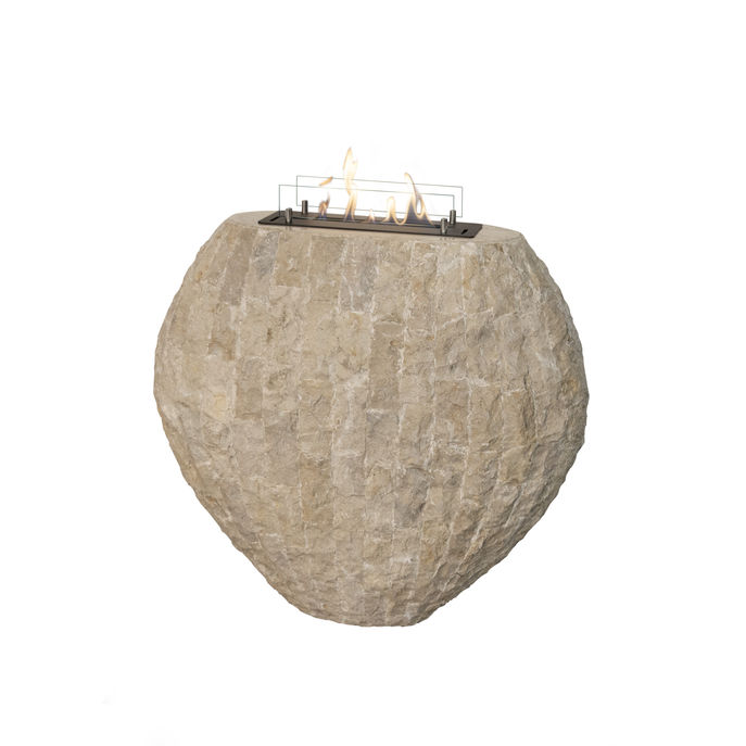 Xaralyn Shigo Stone off white with bio ethanol burner S (4114LB)