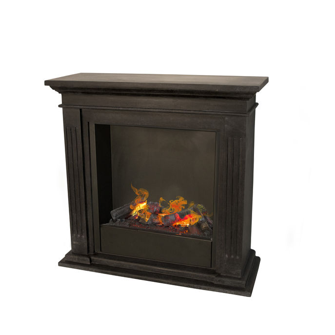 Cadiz F03 naturestone with Opti-Myst Cassette 600 water vapour fireplace