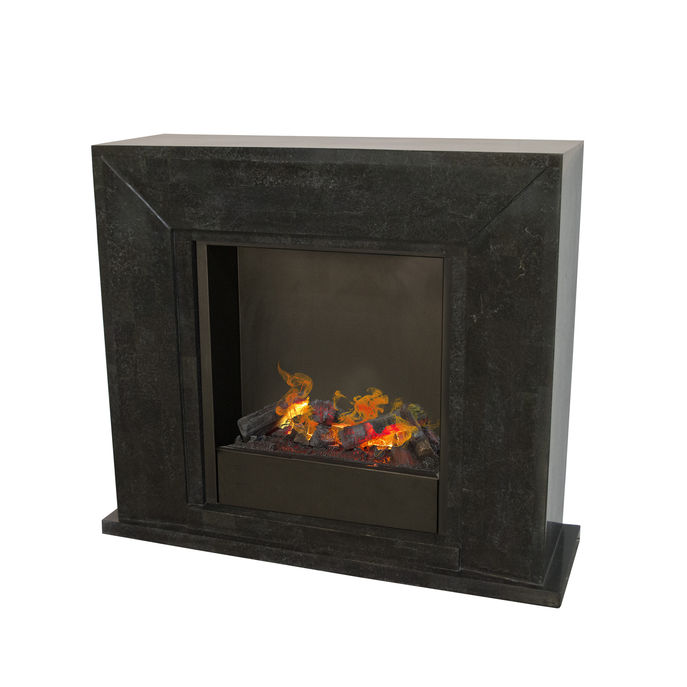 Nero F03 with opti-myst Cassette 600 water vapour fireplace