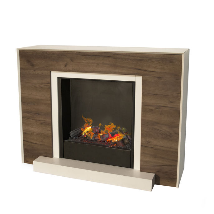 Marvik surround with opti-myst Cassette 600 water vapour fireplace