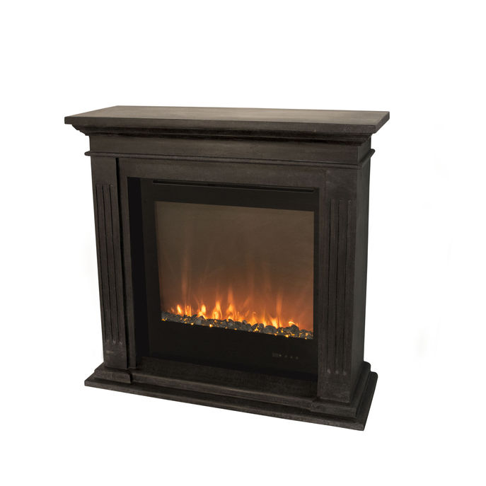 Xaralyn Cadiz naturestone black with Electric LED insert Trivero 70