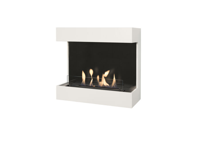 Umbria MDF Wallsurround with Opti-Myst Cassette 600 water vapour fireplace