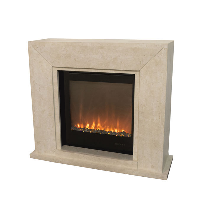 Xaralyn Nero nature stone off white polished with Trivero 70 Electric LED insert