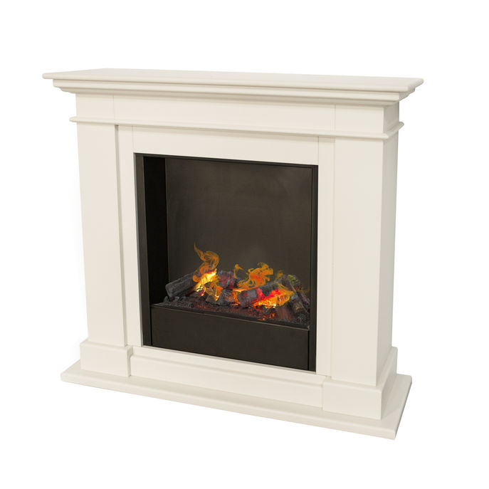 Kos MDF with Opti-Myst Cassette 600 water vapour fireplace