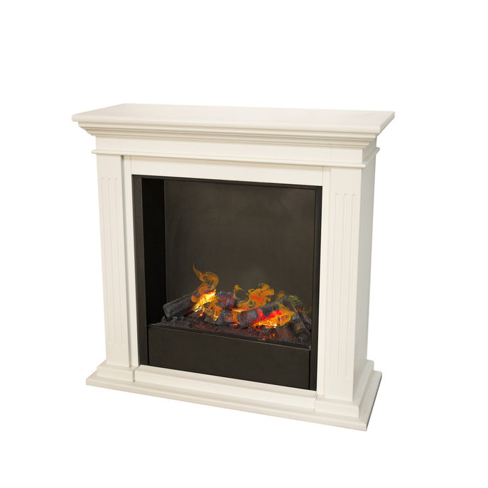 Cadiz MDF with Opti-Myst Cassette 600 Water vapour fireplace