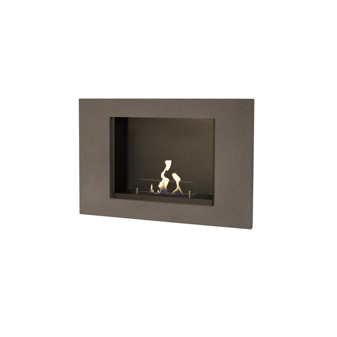 Xaralyn Goya wallsurround concrete look grey with bio ethanol burner S (4114B)