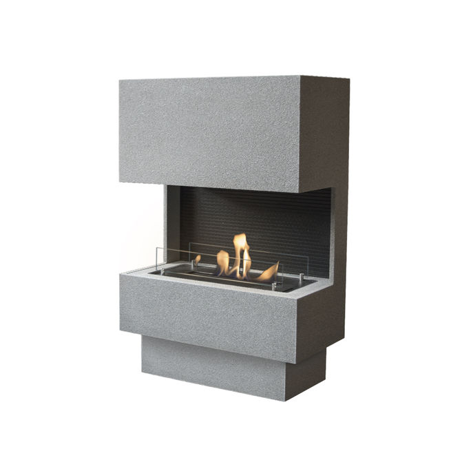 Xaralyn Nuoro Concrete look grey with bio ethanol burner S (4114LB)